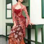 Gorgeous and Sexy Red Kebaya